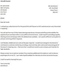 Cleaner Cover Letter Under Fontanacountryinn Com