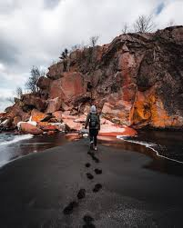 Maybe you would like to learn more about one of these? Black Beach Silver Bay Minnesota Minnesota Travel Minnesota Photography Outdoors Adventure