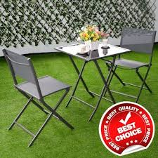 bistro set patio table and chairs