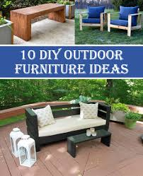 10 insanely cool diy outdoor furniture