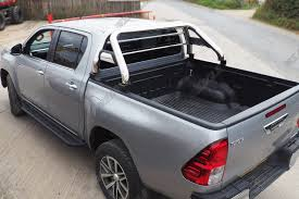 New Toyota Hilux Roll Bar - Stainless Steel