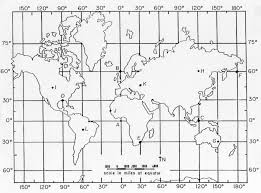 Latitude And Longitude Class Map