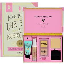 benefit cosmetics how to look the best at everything flawless plexion makeup kit health beauty makeup on carousell