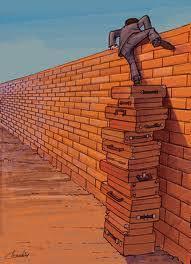 Resultado de imagem para em cima de muro