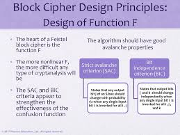 Block Cipher Design Principles Cryptography And Network Security Ppt Download