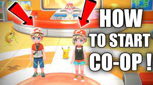 HOW TO START CO-OP! [Pokemon Let's Go Pikachu and Eevee] - YouTube