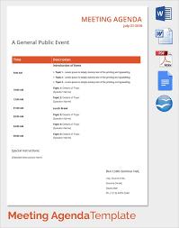 Sales Meeting Topic Free 13 Sales Meeting Agenda Templates In Pdf Word