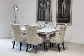 prissy design velvet dining room chairs other grey beautiful intended for serge living riviera white gl
