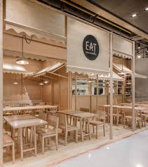 Wood Interior Design Wood Chipping Onion Designs All Wood Eatery At Emquartier Wood