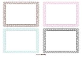 Certificate Borders Free Download Fascinating Certificate Frame Certificate Template Border Free Best Of
