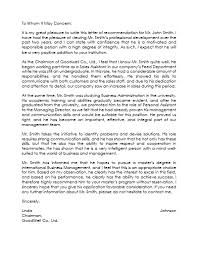 Employee Reference Letter Templates Employee Reference Letter Template 5 Samples That Works