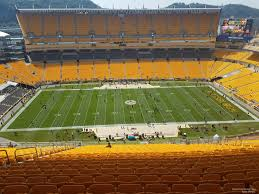 Heinz Field Club Seating Chart 24 Particular Heinz Field Seating Chart Virtual View