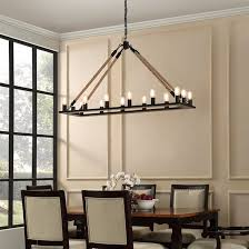 full size of lighting captivating clarissa rectangular chandelier 11 bridge industrial for dining room design your