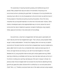 save our environment short essay