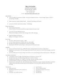 Medical Lab Technologist Resume Medical Technologist Resume Sample