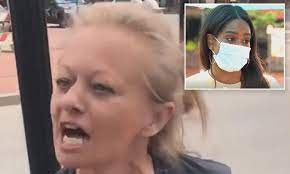 White woman screams racist abuse at North Carolina pedestrians | Daily Mail  Online