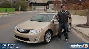 2012 Toyota Camry Hybrid Test Drive & Car Review - YouTube