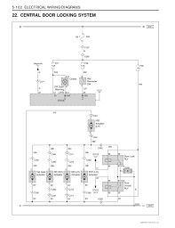 electrical wiring diagrams 22 central door locking system ssangyong Home Wiring Diagrams electrical wiring diagrams 22 central door locking system ssangyong rexton xdi (lhd)