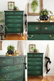 green painted furniture. Layering Chalk Paint Green Painted Furniture H