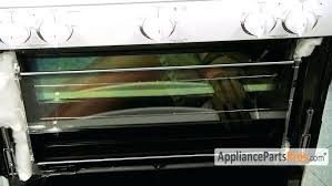 oven door glass replacement ge profile part kenmore inner