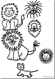 Small Picture Lion Face Coloring Page Apigramcom