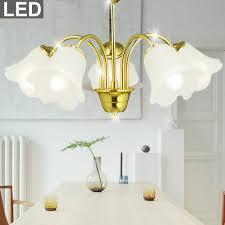 Luxus Led Decken Pendel Hänge Lampe Leuchte Chrom
