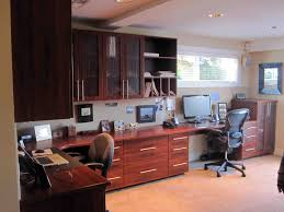 home office furniture for two. Captivating Two Person Desk Home Office With Floating Wooden Furniture For