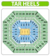 65 Reasonable Unc Basketball Stadium Seating Chart