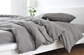 comforter cover queen with regard to medium grey linen duvet design 1