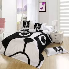 cartoon comforter sets dog print bedding set twin queen and king size 15