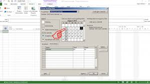 Microsoft Project Gantt Chart Timescale How To Reflect New Calendar Non Working Days In Timescale