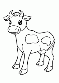 Pages to color animal cow. Little Cow Coloring Page For Kids Animal Coloring Pages Printables Free Cow Coloring Pages Farm Animal Coloring Pages Animal Coloring Pages
