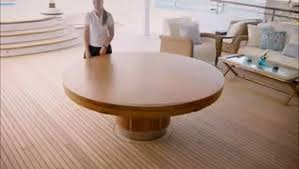 master craftsperson expanding round table
