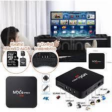 ▷ TV Box MXQ Pro 4K 64bits 2GB Ram 16GB Rom Regalo una MicroSD 64Gb | El  Producto Perfecto Para Ti