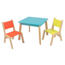 kidkraft outdoor table and chair set with cushions adorable espresso