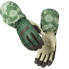 laura ashley gauntlet gardening gloves
