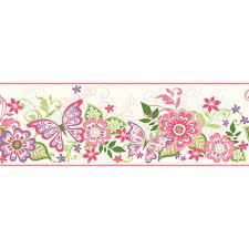 Flower Wallpaper Border Design ...
