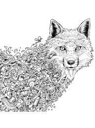Wolf En Vos Kleurplaat Kleurplaat Wolf Afb 22786 Kleurplatenlcom