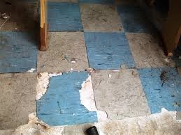 asbestos and old vinyl tiles