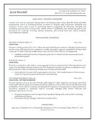 Cook Resume Objective Prep Cook Resume Objective Chef Sample Cooking Template Pertaining 57