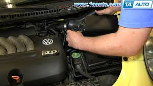 how to install replace maf mass air flow sensor 2001 05 1 8l turbo how to install replace maf mass air flow sensor 2001 05 1 8l turbo vw beetle