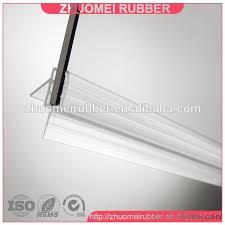 shower door bottom sweep 5 10mm frameless shower door sweep bottom seal wipe drip rail shower