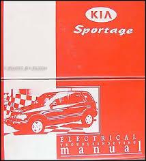 1999 2000 kia sportage electrical troubleshooting manual original 2000 Kia Sportage Wiring Diagram 2000 Kia Sportage Wiring Diagram #77 2000 kia sportage radio wiring diagram