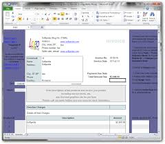 Invoice Template Excel 2003 Download Web Hosting Invoice Form