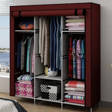 furniture for hanging clothes. Simple Wardrobe Cabinet Hanging Clothes Storage Cabinets Put Cloth Kitchen Metal Frame Furniture For A