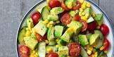 avacado and tomato salad