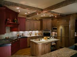counter lighting http. Alder Cabinets Kitchen Traditional With Beams Island Track Lighting Under Cabinet Counter Http