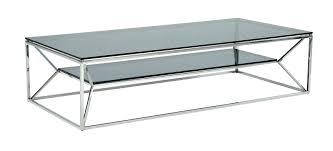 glass chrome coffee table designer coffee tables stylish accessories dakota round chrome and glass coffee table glass chrome coffee table
