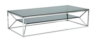 glass chrome coffee table designer coffee tables stylish accessories dakota round chrome and glass coffee table