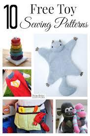 Animal Sewing Patterns Awesome 48 Free Toy Sewing Patterns